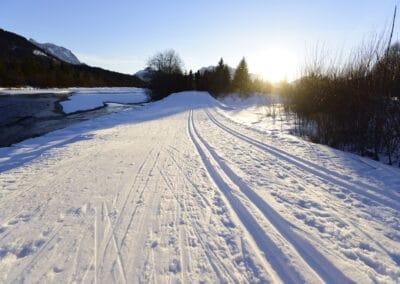 Canada Loipe in Wallgau