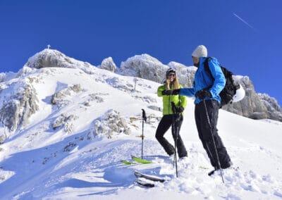 Skitour im Dammkar