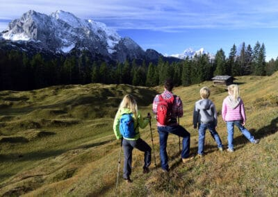 Familienwanderung am Kranzberg