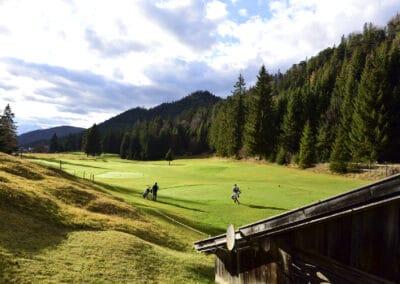 Golfen in Wallgau