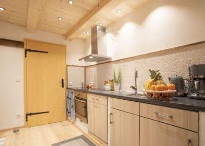 Küchenbereich Ferienwohnung Karwendelblick 3