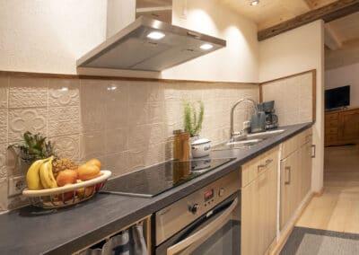 Küchenbereich Ferienwohnung Karwendelblick 2