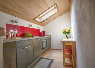 Küchenbereich Ferienwohnung Schöttelkarblick