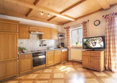 Küchenzeile Ferienwohnung Sonnleiten
