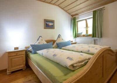 Schlafzimmer Ferienwohnung Sonnleiten 2