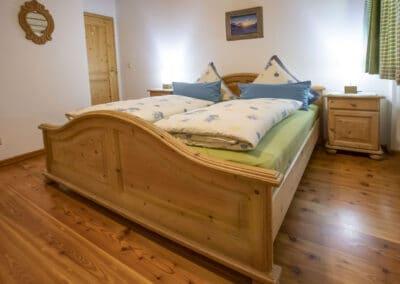 Schlafzimmer Ferienwohnung Sonnleiten