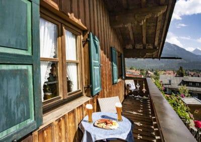 Balkon Ferienwohnung Sonnleiten