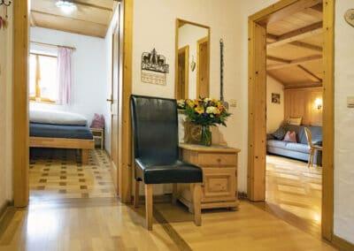 Eingangsbereich Ferienwohnung Sonnleiten
