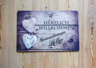 Fußmatte Ferienwohnung Karwendelblick
