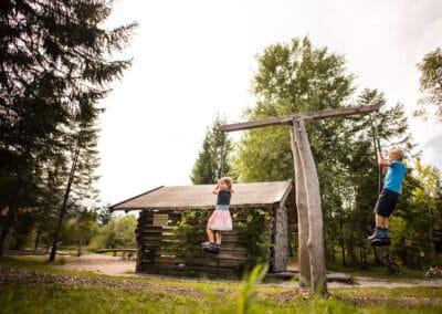 Naturspielplatz in Wallgau