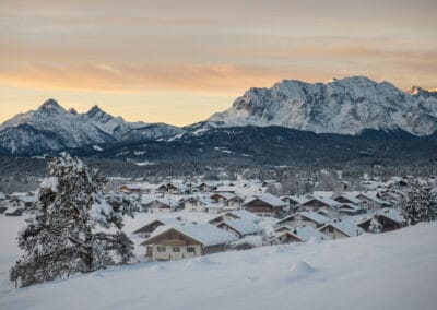 Wallgau im Winter